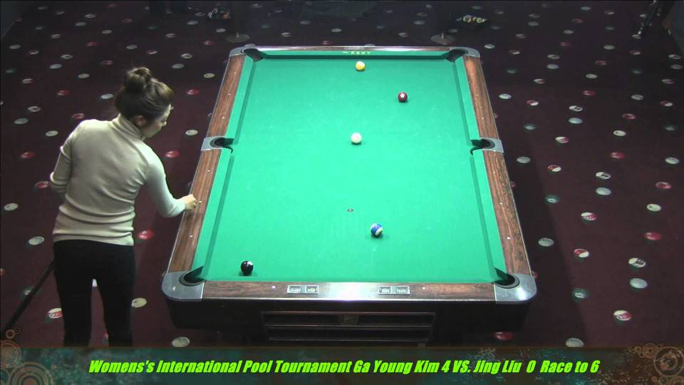 2014 Women's International 10 Ball Jing Lu vs. Ga Young Kim